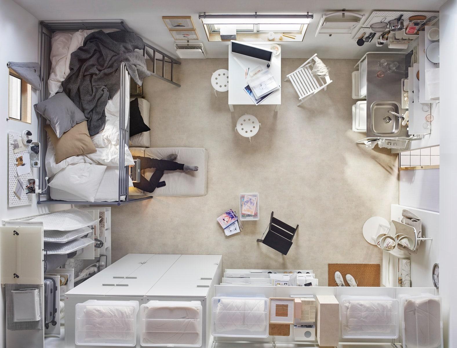 5 cara menata kamar kos yang sempit  IKEA Indonesia